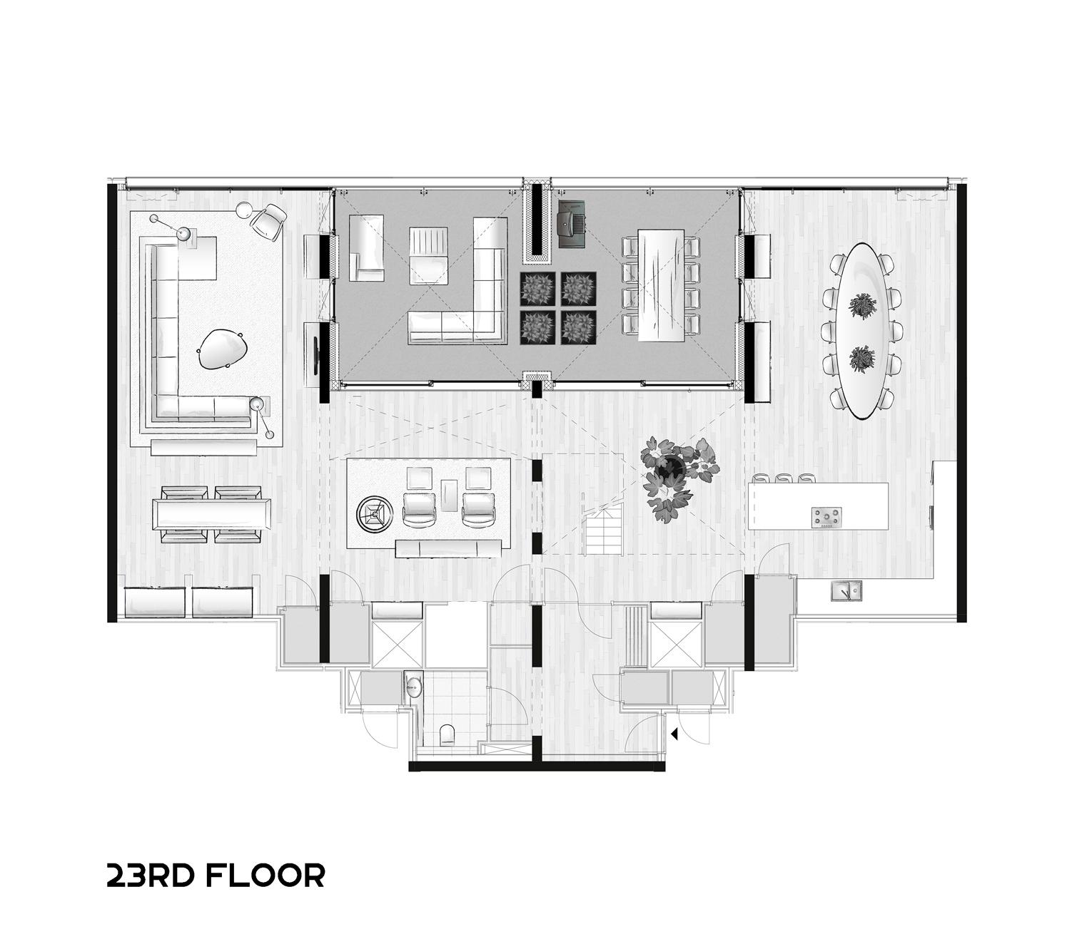 23ste verdieping